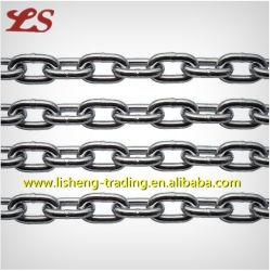 中国の製品か製造者。 DIN 5685Aのリンク・チェーンの不足分のリンク・チェーンの不足分の鎖の抗力鎖