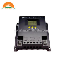 LCD-Scherm USB Function Light and Time Control 12/24/48V PWM-lader voor zonne-energie
