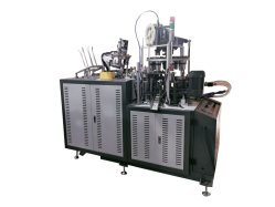 Cw-L12 vaso de papel de la máquina con sistema Cam abierto