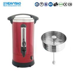 헤비바 색상 코팅 스테인리스 스틸 커피 urn 히터