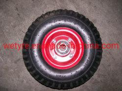 Haute capacité de charge de protéger l'environnement coloré Mousse de PU de pneus de roue (3.50-4)