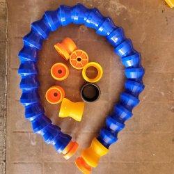 Flexibele slang van de koelvloeistofleiding voor de waterolie met ronde neus van kunststof