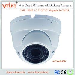 Macchina fotografica Vandalproof di Ahd della cupola della macchina fotografica del CCTV di Hikvision per i progetti esterni