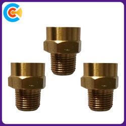 DIN/ANSI/BS/JISの炭素鋼かステンレス製はか黄銅4.8/8.8/10.9鉄道か機械装置または企業/Fastenersのための銅セットねじに電流を通した