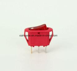 Interrupteur à bouton coloré Kcd-108 pour fer à repasser électrique Home Appliance l'interrupteur de fusée