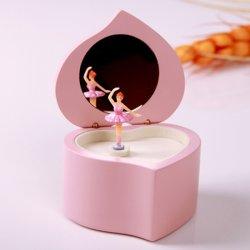 Nouveaux enfants Pink Ballerina papier boîtes de musique