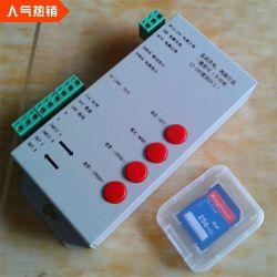 Ws2812b WS2811 de iluminación LED DE TIRA T1000s del Controlador de LED de la tarjeta SD