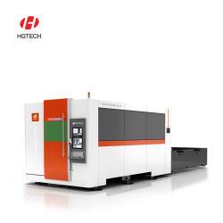 판매를 위한 Hgtech 고성능 1000W/2000W/3000W 4000W 5000W 6000W 금속 또는 스테인리스 또는 구리 또는 알루미늄 CNC 섬유 Laser 절단기 Laser 절단기