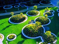 Naturel faux Gazon Synthétique Gazon artificiel de l'herbe de l'herbe en plastique pour le jardin ou l'aménagement paysager de l'herbe