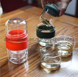 Oferta de vidrio Min juego de té con tazas pequeñas
