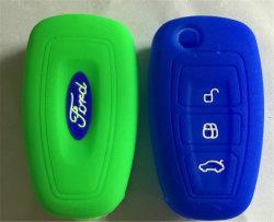 Couverture universelle de clé de silicones de caisse du véhicule Sy06-01-003 pour Ford