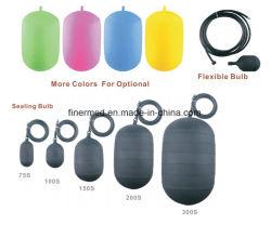 Ballon gonflable en caoutchouc d'étanchéité du tuyau de prise de test d'égout de blocage