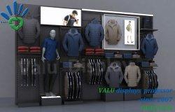2020小売りの衣服の店のためのLEDライトが付いている新しい方法様式の服ラック