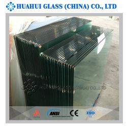 Het Gehard glas van de veiligheid voor het Schermen van het Traliewerk met 304 316 2205 Sponnen van het Roestvrij staal