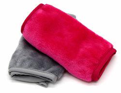 Tissu Microfibre Serviette de dépose de maquillage Démaquillant Polyester électrodes réutilisables Effacer des Outils de maquillage