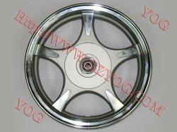 Yog のための予備部品のオートバイのアルミニウムリム完全な合金の車輪 GY6-50/WY