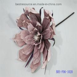 Decorazione Handmade della casa di cerimonia nuziale dei fiori artificiali DIY della testa di fiore della Rosa della gomma piuma del PE festiva
