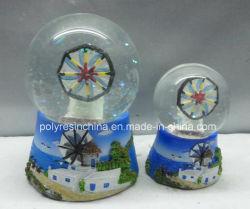 La Grèce Polyresin Cadeaux souvenirs de Boule à neige