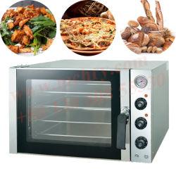 パンのペストリーのベーキング機械商業パン屋の使用4の皿の熱気の対流のオーブン