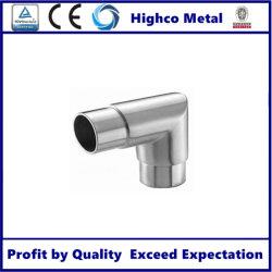 Commerce de gros connecteur du tuyau de la main courante en acier inoxydable
