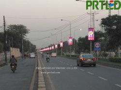 Poste de alumbrado público/ Medios de Comunicación Exterior de la columna de carteles LED pantalla con el diseño de teléfonos inteligentes (P4, P5, P6)
