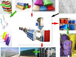 Macchina trafilatrice monofilamento Cina PET/PP Brush/spazzatrice/capelli basculanti sintetici/corda