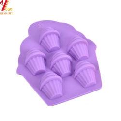 Formato de sorvete coloridos personalizada do molde de silicone (YB-AB-032)