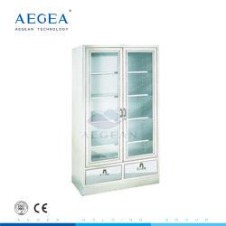 AG-SS083 avec porte en verre Armoire en acier