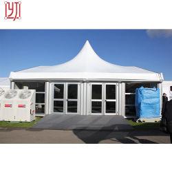 10m, 15m, 20m de vão livre parte retângulo de largura de tendas para o evento