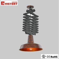 Rhb Industrial Metal por la lámpara de araña colgante Hecho a mano