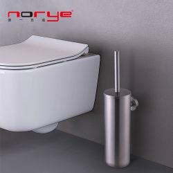 حامل فرشاة الحمام المثبت على الحائط من الفولاذ المقاوم للصدأ ملحقات الحمام