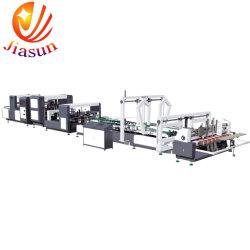 고속 자동적인 물결 모양 판지 상자 폴더 Gluer 및 스티치 기계 스테이플러