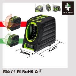 98FT en 148FT zelf-Nivelleert DwarsNauwkeurigheid 2mm van de Macht van de Lijn per het Niveau van de Laser van 10mLasers (Doos)