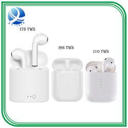2018 Nouveau produit Mini écouteurs écouteurs BT I9 I9s pour l'iPhone avec boîte de chargement