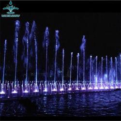 Hotel Plaza de la plaza exterior de la luz de LED de fuente de la música de baile de agua