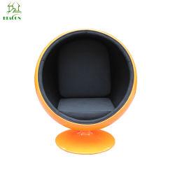 Huevo de diseño moderno de fibra de vidrio resistente Silla de bola de POD