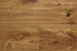 Fumaba aceitado de ingeniería de roble francés de parquet de madera con estilo
