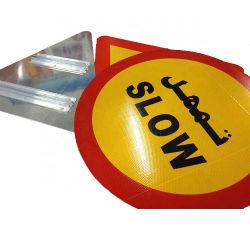Segno di traffico stradale riflettente di alluminio su ordinazione per sicurezza d'avvertimento