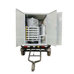 Zyd-M-100 Remorque fermée de la machine de filtration de l'huile du transformateur