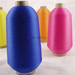 Commerce de gros échantillons gratuits S/Z 100% Polyester DTY Tirer les fils texturés