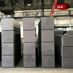 500 X 500 X 1800-2600mm Bloco de grafite de alta densidade