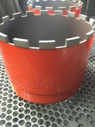 Soudage au laser Diamond Core forets pour le forage de base en béton sec