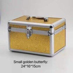 قفل صندوق تخزين تجميلي احترافي ذو سعة مناسبة لسهولة الحمل