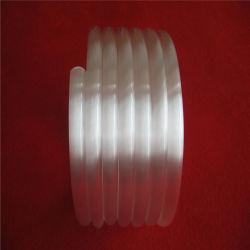 Espiral leitoso venda superior do tubo de vidro de quartzo da bobina do tubo para venda
