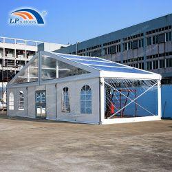 Cubierta de techo transparente de 15m de ancho Arcum parte carpa para evento al aire libre