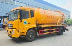 Máquina de vácuo Dongfeng 4cbm Veículo de sucção de esgotos