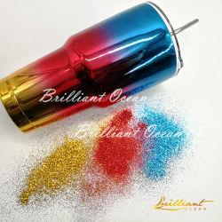 芸術およびDIYのための多彩な輝きのきらめきの粉