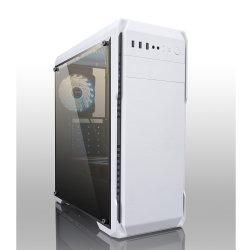 白色のケース構造 ABS プラスチックアクリル材料パネルアクリルウィンドウ コンピュータケース