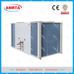 Las pequeñas unidades de condensador de aire acondicionado de la unidad de condensación con tubo de cobre ranurado interior