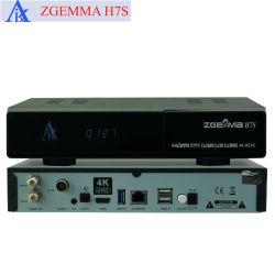 Zgemma H7s con ricevente satellite di DVB-T2/C + di 2*DVB-S2X 4K UHD HDD Kodi